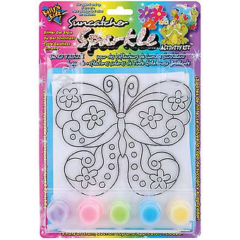 Suncatcher Sparkle Activity Kits Butterfly 654 02