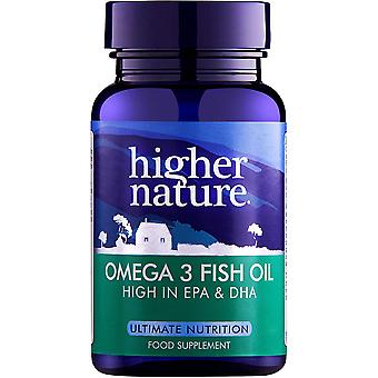 Higher Nature Omega 3 Fish Oil, 180 capsules