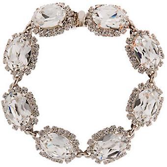 Martine Wester Crystal Oval Stoned Bracelet