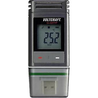 Temperature data logger, RH data logger, Air pressure data logger VOLTCRAFT DL-220THP Unit of measurement Temperature, H