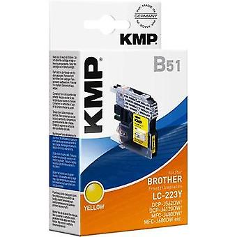 KMP Ink replaced Brother LC-223Y Compatible Yellow 1529,0009