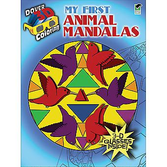Dover Publications-Animal Mandalas Coloring Book 3D DOV-48103