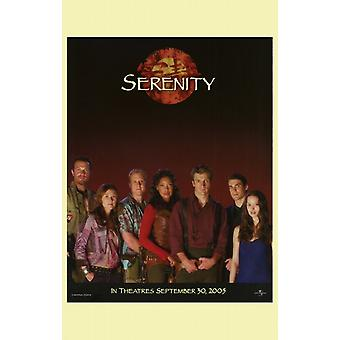 Serenity filmposter (11 x 17)