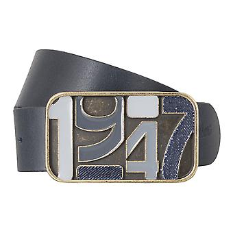 WRANGLER belt leather belts men's belts blue 4785