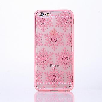Mobile case mandala for Apple iPhone 7 plus design case cover motif flakes cover bag Bumper Rosa