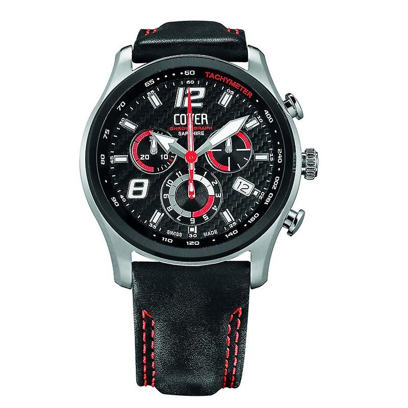Cover men's watch Co135. BI1LBK/R
