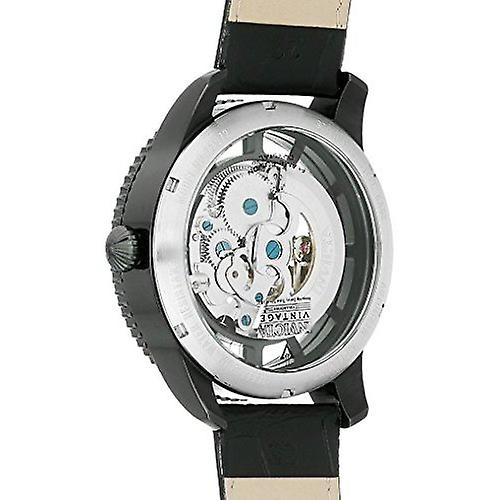 Invicta Vintage Automatic Stainless Leather