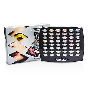 Cameleon make-up Kit G1665: 48xEyeshadow 4xBlush 6xLipgloss 4xBrush--