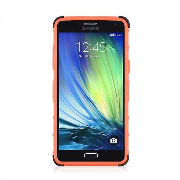 Hybrid case 2 piece SWL robot Orange for Samsung Galaxy A5 A500 A500F