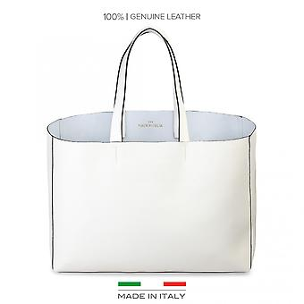Made in Italia Shopping bag Bianco LUCREZIA Donna Primavera/Estate