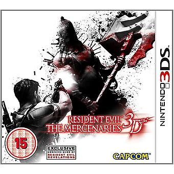 Resident Evil de huurlingen 3D Nintendo 3DS Video Game