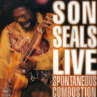 Son Seals - Spontaneous Combustion [CD] USA import