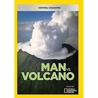 Man vs. Volcano [DVD] USA import