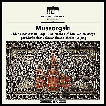 Mussorgsky / Markevich / Leipzig - Mussorgsky: Pictures at an Exhibition [Vinyl] USA import