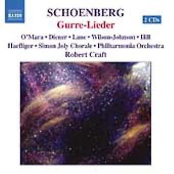 A. Schoenberg - Arnold Schoenberg: Gurre-Lieder [CD] USA import