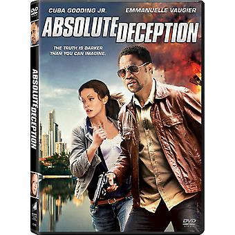 Absolute Deception [DVD] USA import