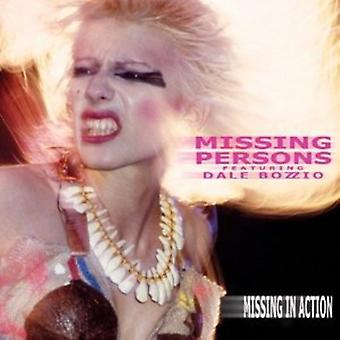 Missing Persons - Missing in Action [CD] USA import