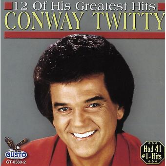Conway Twitty - 12 af hans største Hits [CD] USA import