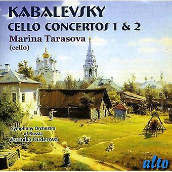 Kabalevsky - Kabalevsky: Cello Concertos Nos. 1 & 2 [CD] USA import
