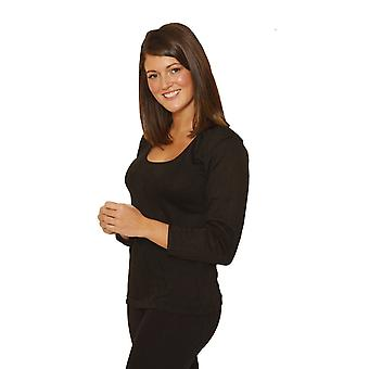 OCTAVE Ladies/Womens Thermal Underwear Long Sleeve T-Shirt/Vest/Top