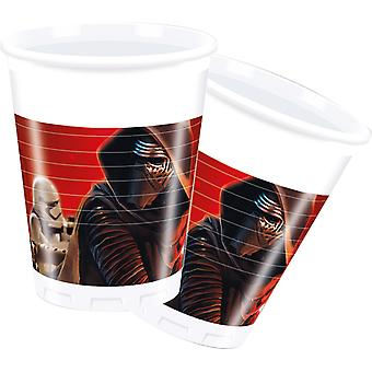 Star Wars mug 200ml Kids Party 8 St the force awakens children birthday