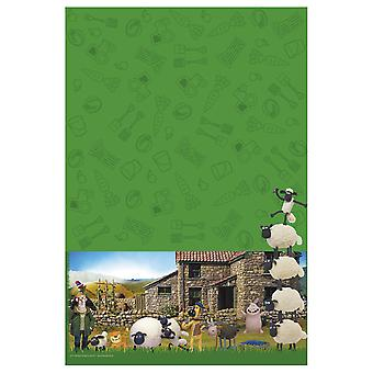 Shaun the sheep children's party tablecloth 130 x 180 children's birthday
