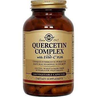 Solgar Quercetin Complex Ester-C Plus Vegetable Capsules 100ct