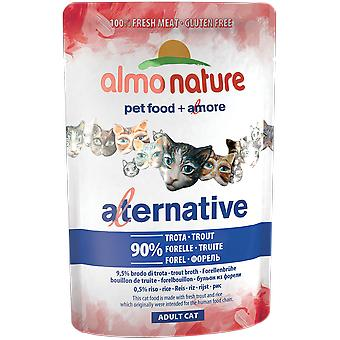 Almo nature Alternative Pouch Trucha (Cats , Cat Food , Wet Food)