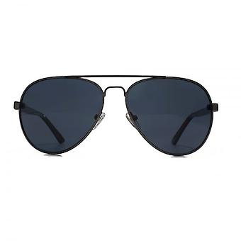 Levis Pilot Sunglasses In Matte Gunmetal Polarised