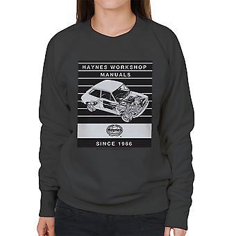 Haynes Workshop manuell 0173 Fiat 127 Stripe kvinners Sweatshirt
