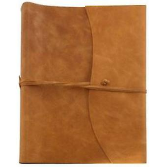 Coles Pen Company Amalfi Extra Large Leather Photo Album - Tan