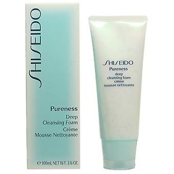 Shiseido Pureness Deep Cleansing Foam (Woman , Cosmetics , Skin Care , Facial Cleansing)