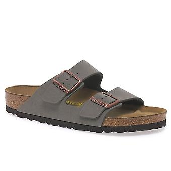 Birkenstock Arizona Ladies Stone Nubuck Mule