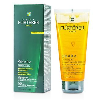 Rene Furterer Okara Light Activating Shampoo (For Highlighted, Bleached Hair) 200ml/6.76oz