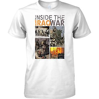 Inside The Iraq War - Photo Collage - Mens T Shirt