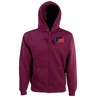 Staff & Personnel Support Branch SPSB Embroidered TRF Logo - Official British Army Zipped Hoodie Jacket