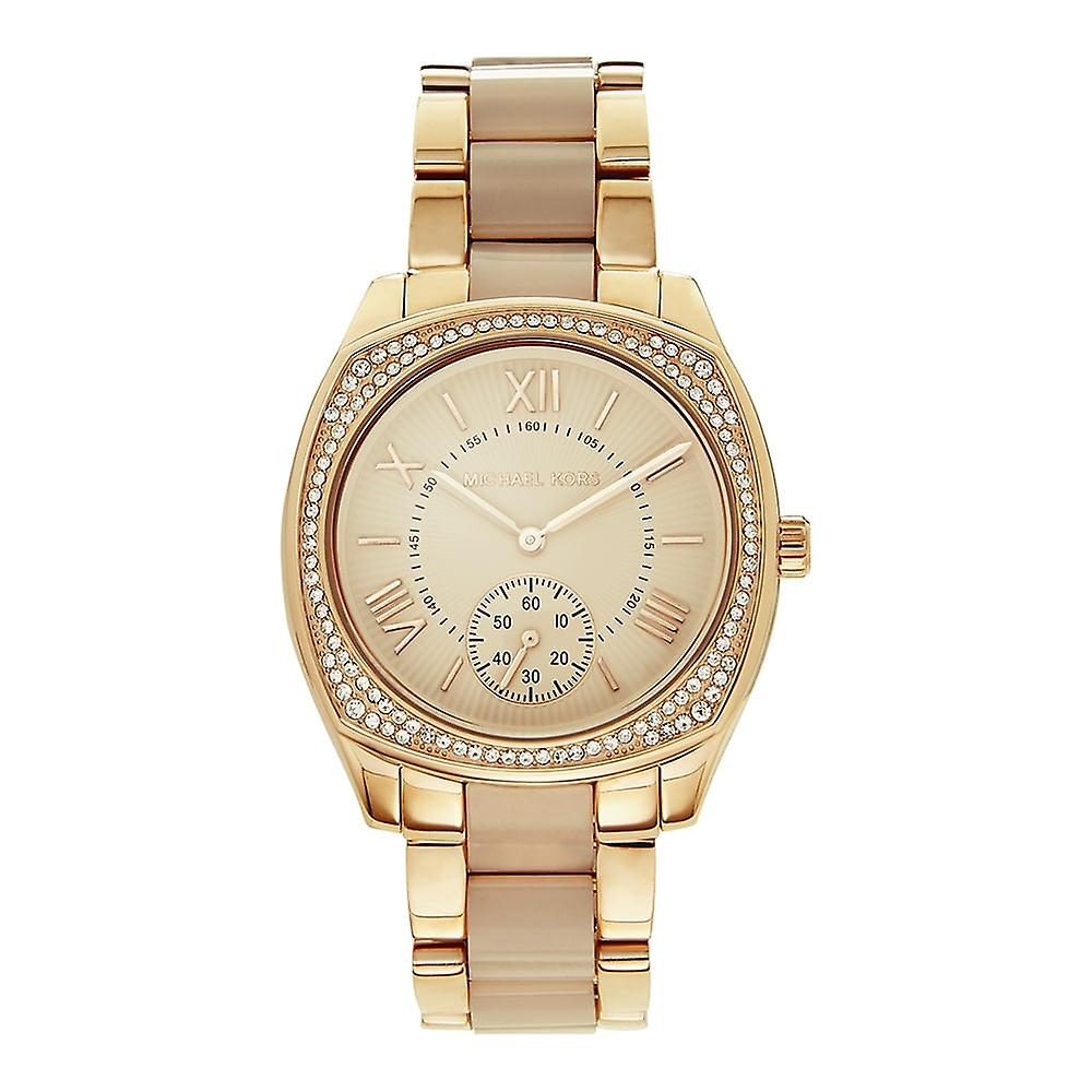 Michael Kors Watches Mk6135 Rose Gold Stainless Steel Ladies Watch