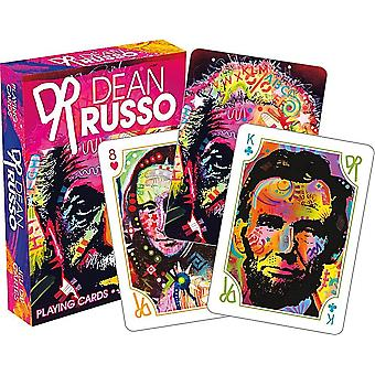 Dean Russo Art set of 52 playing cards    nm
