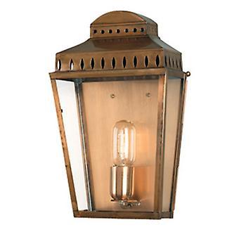 Mansion House Outdoor Lantern, Antique Brass