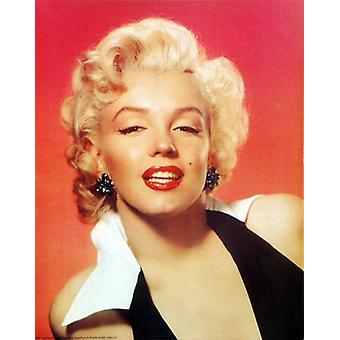 Marilyn Monroe Red Portrait Poster Print (16 x 20)