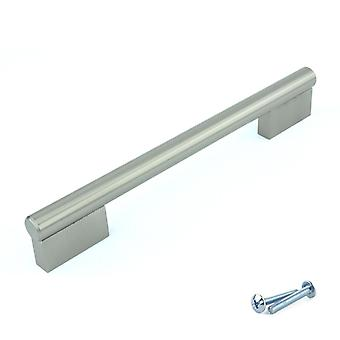 M4TEC Bar Kitchen Cabinet Door Handles Cupboards Drawers Bedroom Furniture Pull Handle Brushed Nickel. K6 series