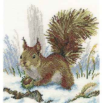 Winter Morning Counted Cross Stitch Kit-8.75