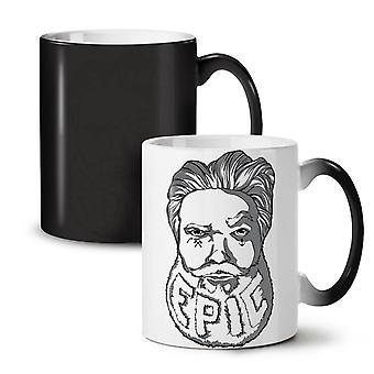Epic Beard Swag NEW Black Colour Changing Tea Coffee Ceramic Mug 11 oz | Wellcoda