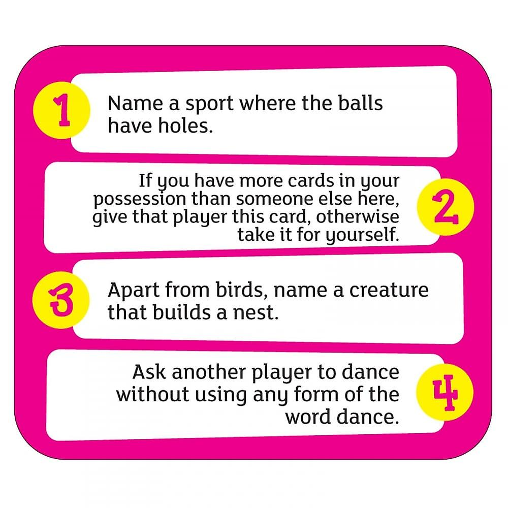 Cheatwell Games Quirky Quiz Card Game