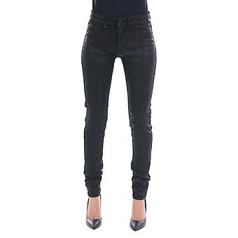 Roy Roger's women's ND0272P0760561NR020 black cotton of jeans