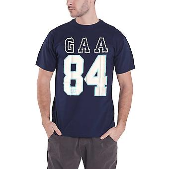 GAA T Shirt Established 1884 Hurling Sport Logo Hurling Official Mens New Blue