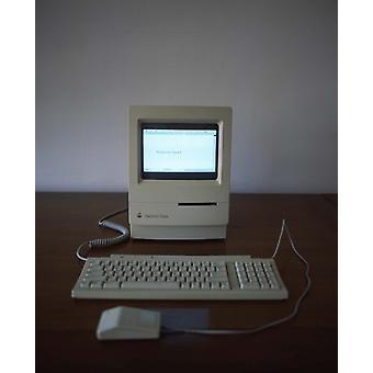 Apple Macintosh Classic desktop PC Poster Print (8 x 10)