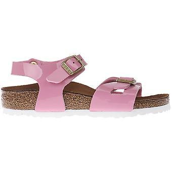 Birkenstock Rio Kids BF Patent Cashmere Rose 1005892 universal summer kids shoes