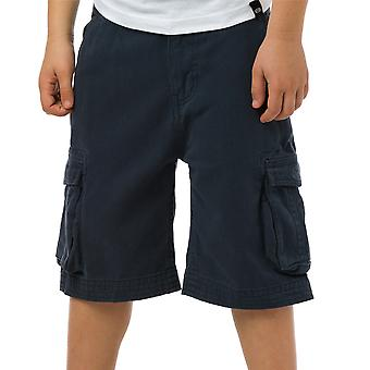 Animal Boys Antony Printed Brand Cargo Shorts CL5SG646 Navy