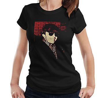 Jack Nicholson 1976 Sunglasses Cap and Scarf Women's T-Shirt